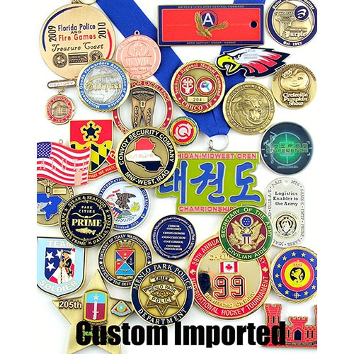 Custom Imported Medals