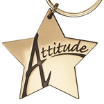 Attitude Star Key Tag