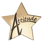 Attitude Star Medallion