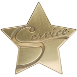 Service Star Medallion