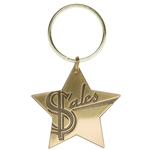Sales Star Key Tag