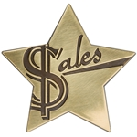 Sales Star Medallion