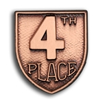 4th PL Lapel Pin