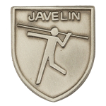 Javelin Lapel Pin