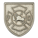 Fire Dept Logo Lapel Pin