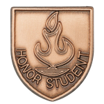 Honor Student Lapel Pin