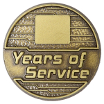 Engraveable Years of Service Pin