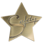 Safety Star Medallion