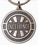 Excellence Key Tag