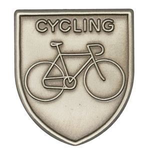 Cycling Lapel Pin