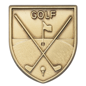 Golf Lapel Pin