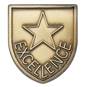 Excellence Lapel Pin