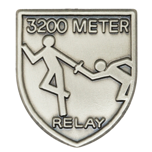3200 M Relay Lapel Pin