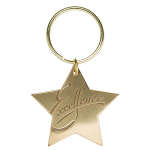 Excellence Star Key Tag